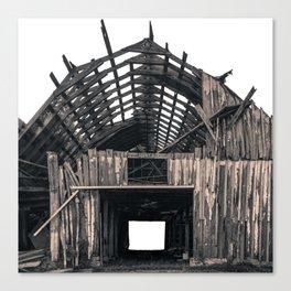 Shambles - Rustic Barn Photography Canvas Print