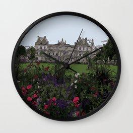 Jardin-du-Luxembourg Wall Clock