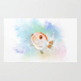 My little Joker_goldfish Rug