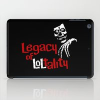 misfits iPad Cases featuring The Misfits after 1983 by Chris Piascik