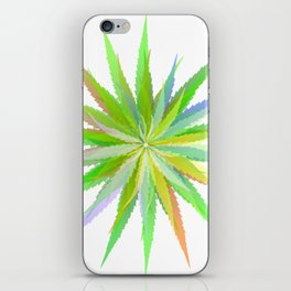 Leaves of grass iPhone Skin