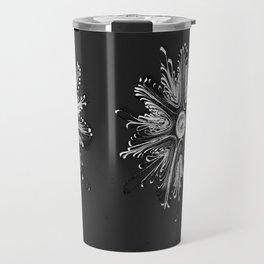 paper quilling digital flower Travel Mug