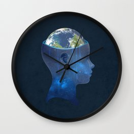 imagine nations Wall Clock