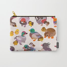 Duck and Duckling Carry-All Pouch