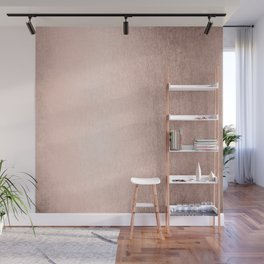 Moon Dust Rose Gold Wall Mural