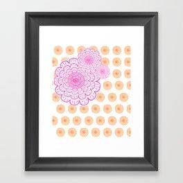 supes girly Framed Art Print