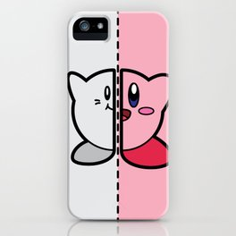 Old & New Kirby iPhone Case