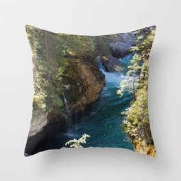 The Calm in the Canyon Throw Pillow