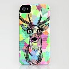Deer are people too iPhone (4, 4s) Slim Case