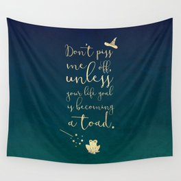 Don't piss me off muggle Wall Tapestry