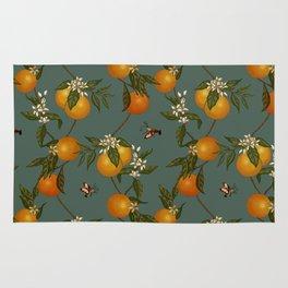 Orange Pattern II Rug