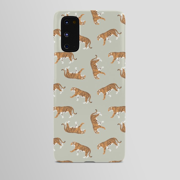 Tiger Trendy Flat Graphic Design Android Case