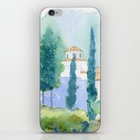 greek iPhone & iPod Skins featuring Greek monastery by Carl Conway