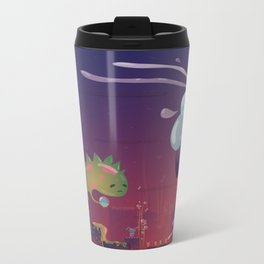 Jelly Godzilla Metal Travel Mug