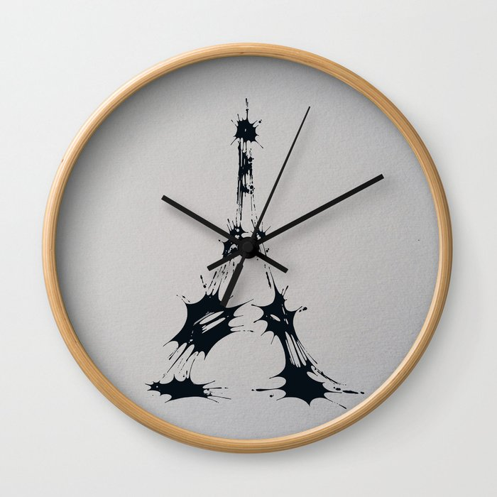 Splaaash Series - Iron Lady Ink Wall Clock