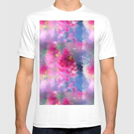 Spring floral paint 1 T-shirt