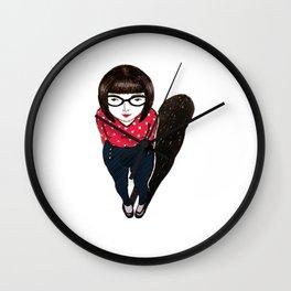 mini miss Wall Clock