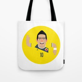 James Rodriguez - Colombia Tote Bag