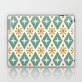 Mid Century Modern Atomic Triangle Pattern 102 Laptop & iPad Skin