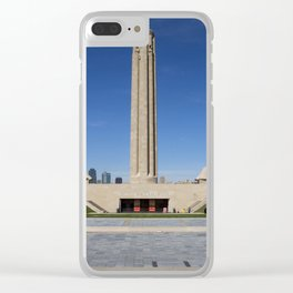 National WWI Museum and Memorial Clear iPhone Case