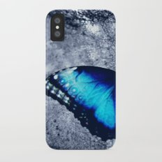 Blue Picture Perfect iPhone X Slim Case