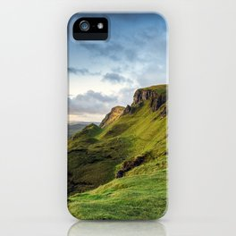 Dawn on the Mountain iPhone Case