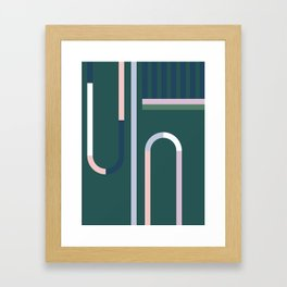 The Introduction Series #10 Framed Art Print