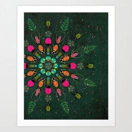 Nature Mandala Art Print