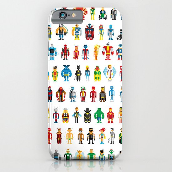 Pixel Heroes iPhone & iPod Case