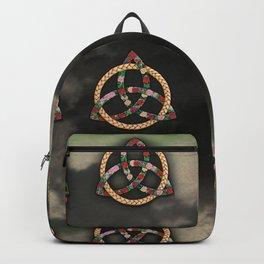 Celtic Roses Trinity Symbol (Celtic Knot) Backpack