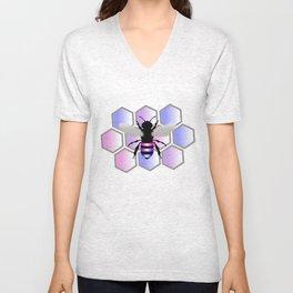 Bee-Sexual Unisex V-Neck