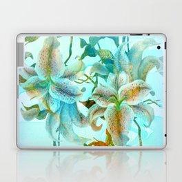 bue lilies Laptop & iPad Skin