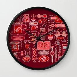 Graphic Design Wall Clock