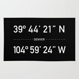 Denver Coordinates Rug