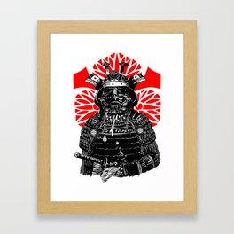 Bushi Trooper Framed Art Print