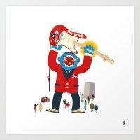 The Who Monster Art Print