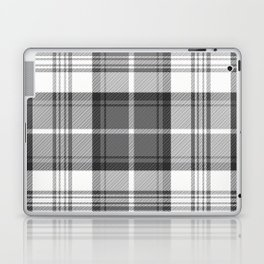 Black & White Tartan Laptop & iPad Skin