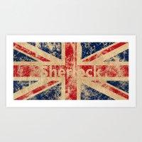 british flag Art Prints featuring British Flag by StudioTwentyTwo