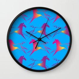 Horse Nation Wall Clock