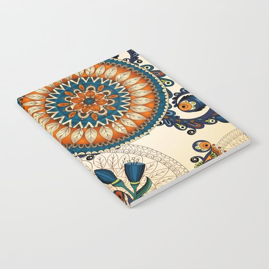 Indian Feather Pattern Notebook