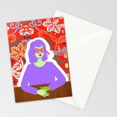 Wren and Wallpaper Stationery Cards