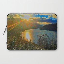 Columbia River Gorge, Sunset Laptop Sleeve