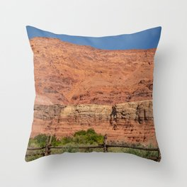 Colorful Mesas 4 - Desert Southwest  Throw Pillow