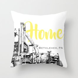 Home Bethlehem, PA  Throw Pillow