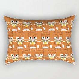 Super cute animals - Cute Kitty Cat Ginger Rectangular Pillow