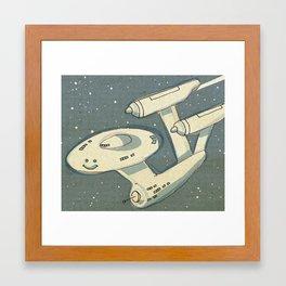 Happy Enterprise Framed Art Print