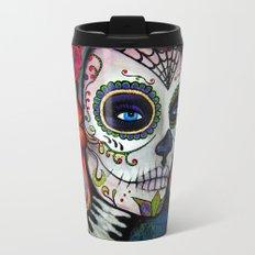 Sugar Skull Candy Travel Mug
