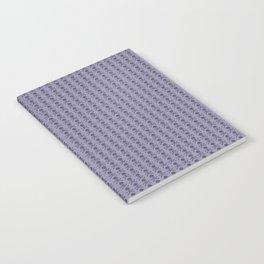 Black and Lavender Skulls Notebook