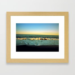 Tainted Shores Framed Art Print