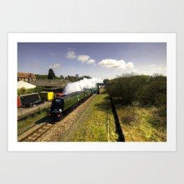 Tangmere at Seaton Junction Art Print